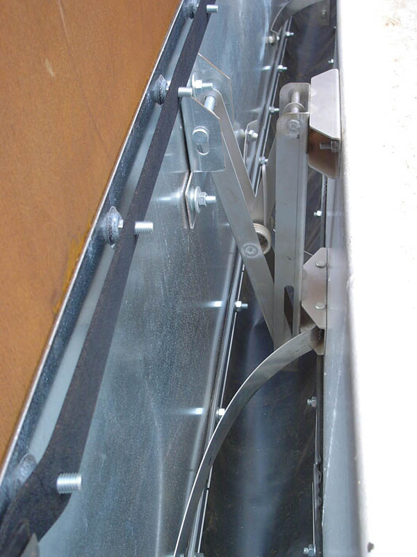 Floating Roof Seals Sealing System For Annular Gap Jpm